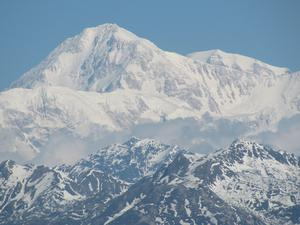 Photograph of Mount McKinley also known as Denali.