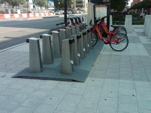 Example of an existing Capital Bikeshare location.