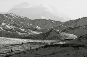 View of Denali from Primrose Rest Stop.