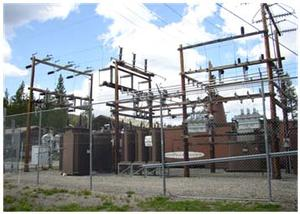 One of Seven Substations in Yellowstone National Park