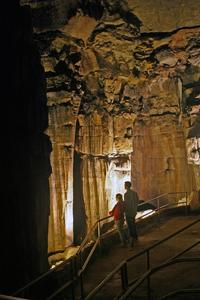 Ruins of Karnak inside Mammoth Cave along the Historic tour route