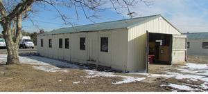 Photo of the existing Building 431 at NPS South Maintenance Facility, Sandy Hook Unit