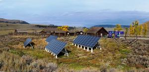 Existing Solar Array, Lamar Buffalo Ranch, Yellowstone National Park