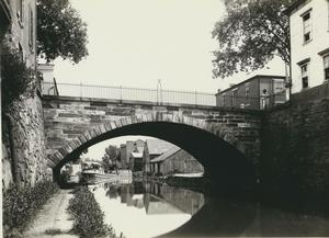 C&O Canal in Georgetown circa 1930