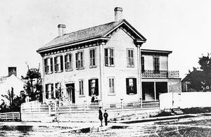 Photo of Lincoln Home in 1860
